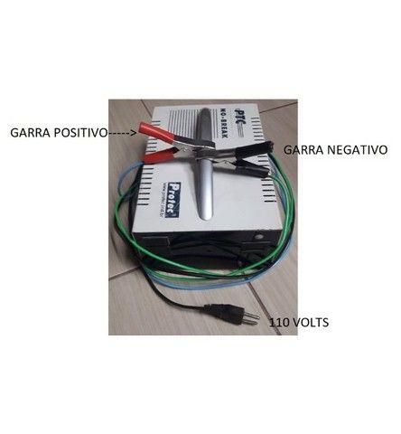 carregador de bateria 5 amperes exelente