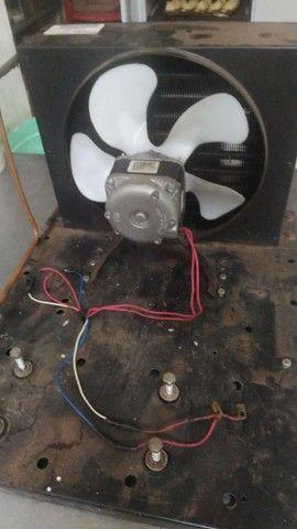 Radiador+ventoinha para refrigeração