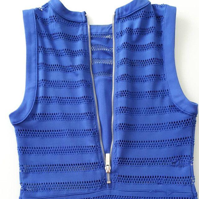 Vestido Azul Royal - Foto 3