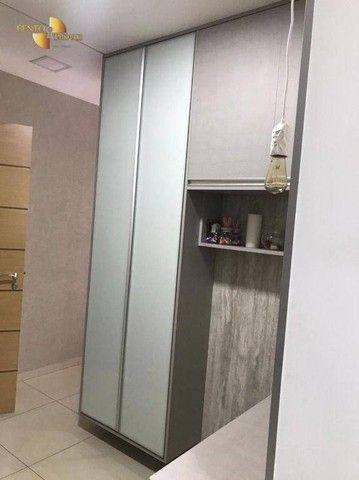 Apartamento com 3 dormitórios à venda, 106 m² por R$ 750.000,00 - Areão - Cuiabá/MT - Foto 12