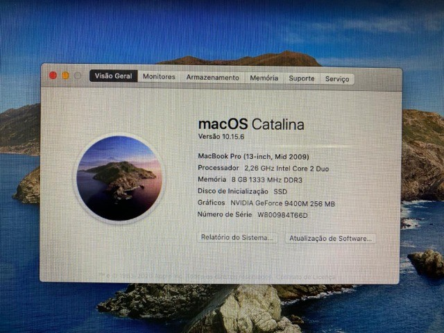 Macbook pro 8gb memoria e ssd de 480gb Geforce 9400M  - Foto 6