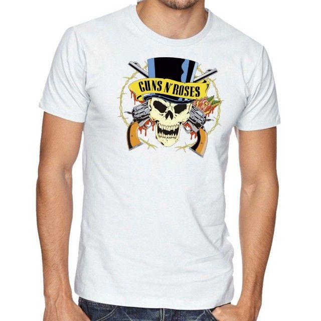 Camiseta Guns n Roses -  Masc e Fem