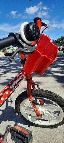 Bicicleta bike caloi menina aro 15 - Foto 2