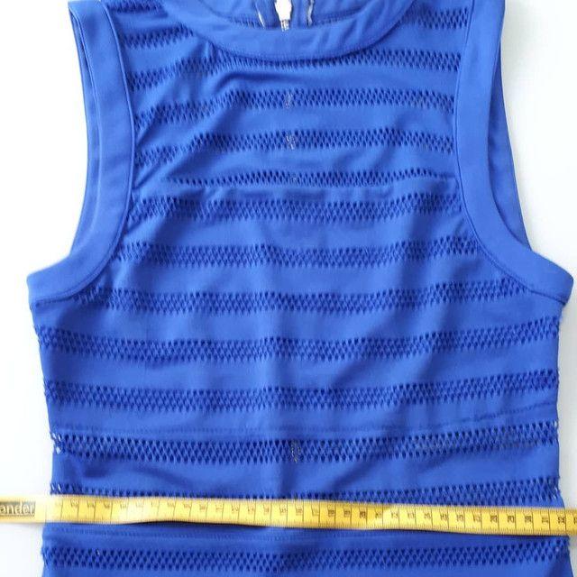Vestido Azul Royal - Foto 4