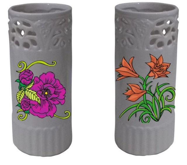 Vaso Cerâmica Personalizado De Acordo C/ Ambiente Do Cliente - Foto 4