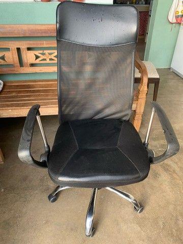 Cadeira de escritório, cadeira presidente  - Foto 3