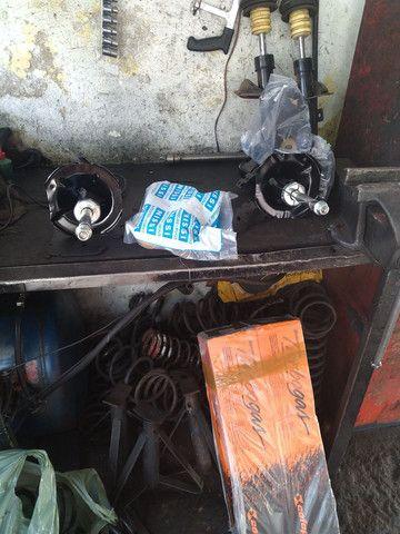 Rodas aro 19 5 furos, amortecedores e molas  - Foto 6