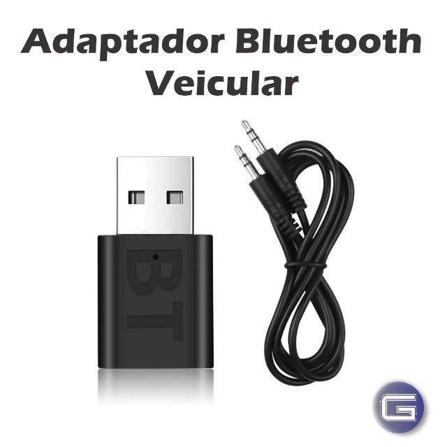 Bluetooth Veicular USB Adaptador para Som de Carro