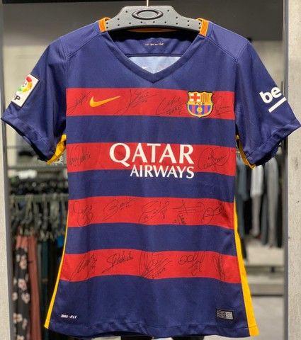 Camisa autógrafada 15/16 Barcelona - Foto 3