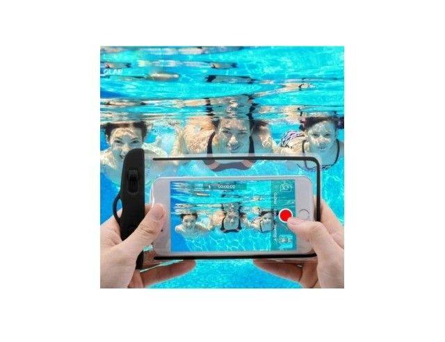 Capa para celular A prova D`água universal - Iphone, Samsung, Motorola, entre outros