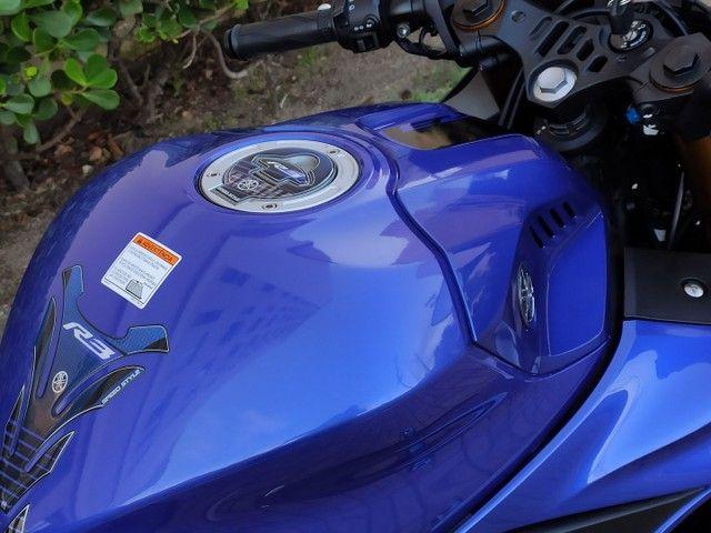 Yamaha R3 2020 2.200km ( anúncio real ) - Foto 11