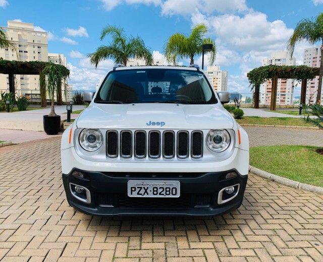 Jeep Renegade Limited 2017/17 Sem retoque, o mais completo