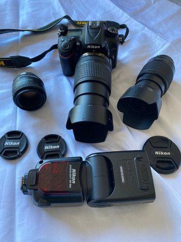 Camera fotográfica profissional Nikon 7200 praticamente nova - Foto 4