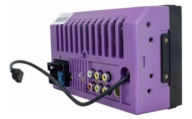 Multimidia Mp5 player twincan 7 polegadas com espelhamento e USB  - Foto 2