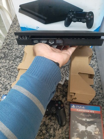 Playstation 4 slim 500 gb zero com nota - Foto 5