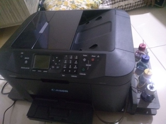 Impressora Canon 2110, com kit Bulk - Foto 2