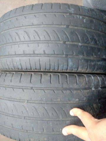 2 pneus 205/40/17 usados  - Foto 2