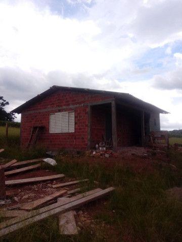 Casa em construçao na barragem capingui - Foto 2