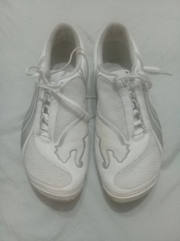 Chuteira Puma Branca