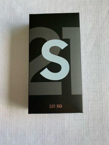 Samsung Galaxy S21 Branco 128gb 5G