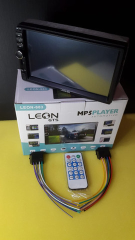 MP5 Full HD- Dvd pra Automoveis 7 polegadas - Via Bluetooth - Foto 3