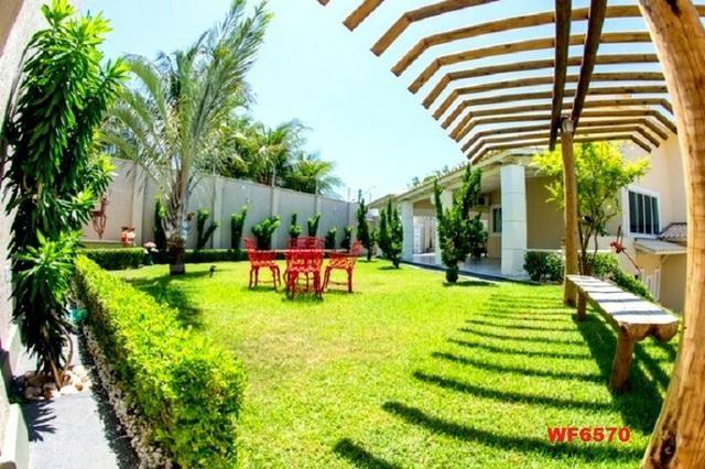 Mansão com 5 suítes, casa duplex, projetada e mobiliada, 7 vagas, rua privativa, Sapiranga - Foto 19