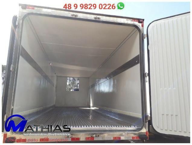Baú bitruck 16 paletes Niju semi novo truck Mathias Implementos - Foto 3
