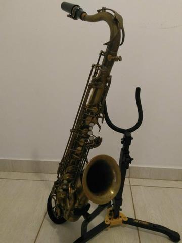 Sax Tenor Júpiter 789 787 com case e boquilha