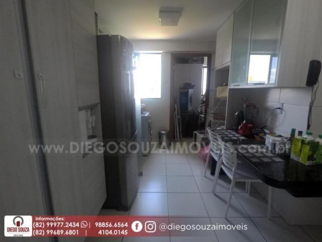 Apartamento para venda em maceió, farol, 3 dormitórios, 1 suíte, 1 banheiro, 2 vagas - Foto 17