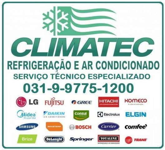 Manutenção e instalação de ar-condicionado split e acj