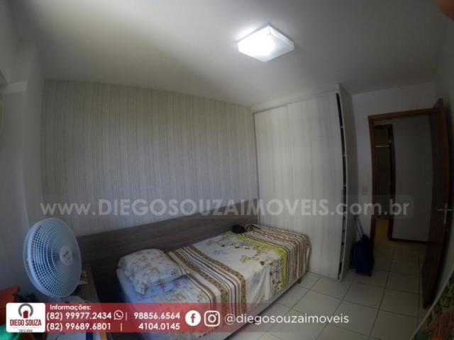 Apartamento para venda em maceió, farol, 3 dormitórios, 1 suíte, 1 banheiro, 2 vagas - Foto 10