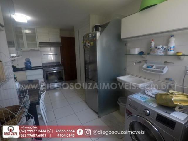 Apartamento para venda em maceió, farol, 3 dormitórios, 1 suíte, 1 banheiro, 2 vagas - Foto 18