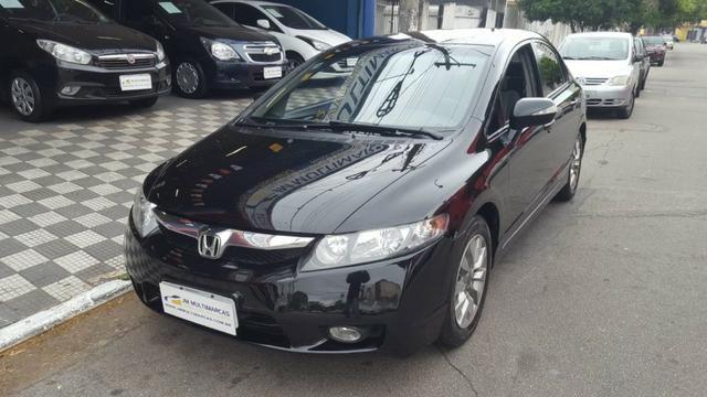 New Civic Lxl SE 1.8 16v Flex Automático, Top de Linha, Impecável e Sem Detalhes!!!
