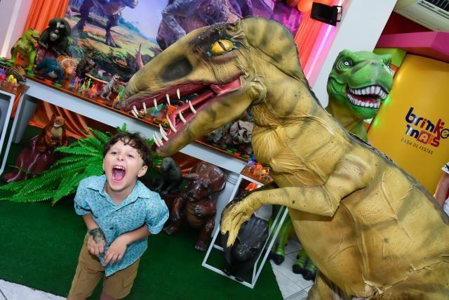 Dinossauro em sua festa .realisno e pontualidade!! - Foto 2