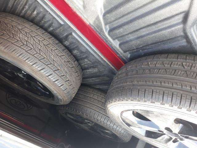 Jogo de rodas do jeep renegade com pneus tudo zerado pra sair logo - Foto 2
