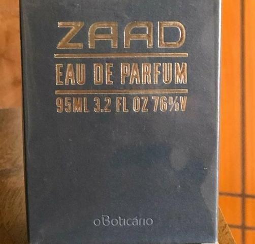 Perfume ZAAD 95ml Boticário