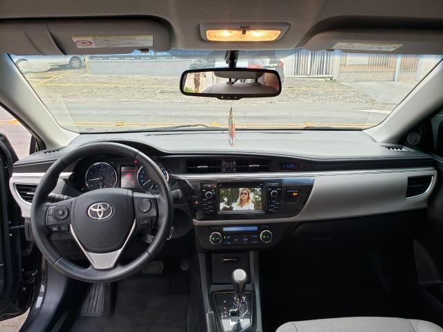 Toyota corolla XEI 2.0 14/15 flex aut. preto - Foto 9