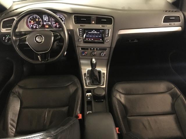 Vw Golf Comfortline 1.4 Tsi 140cv Automatico gasolina Preto 2015 - Foto 8