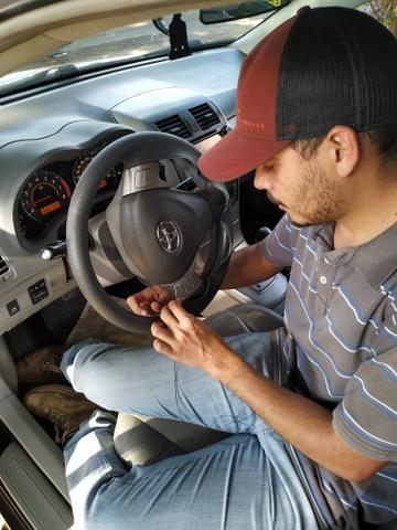 Capa para volante costurado a mão!