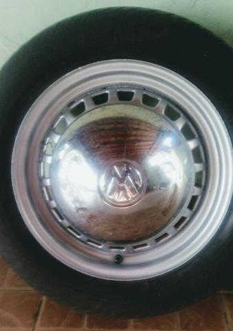 Rodas VW fusca aro 15 4 furos - Foto 3