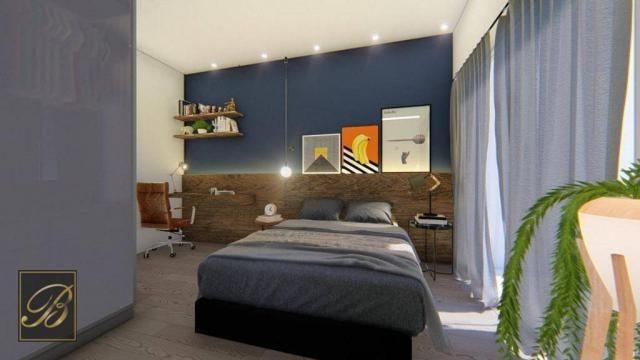 Sobrado com 3 dormitórios à venda, 99 m² por R$ 285.000,00 - Aventureiro - Joinville/SC - Foto 4