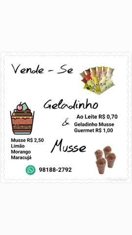 Geladinho gourmet e cremoso/ acima de 20 passa no cartao - Foto 2