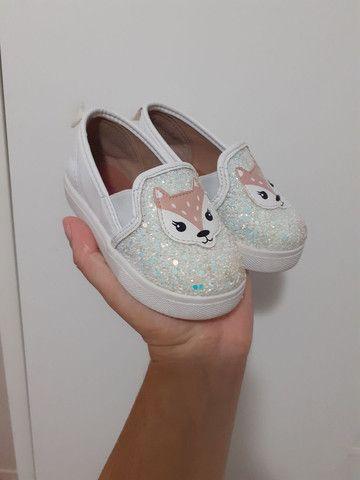 Sapato raposinha infantil  - Foto 2