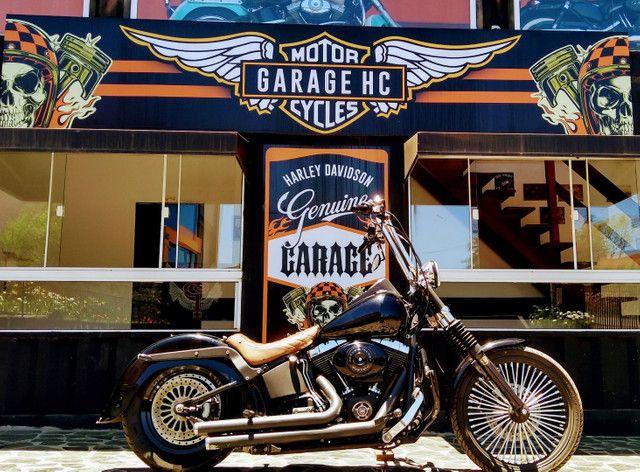 Night Train FX Carburada Harley Davidson - Foto 6
