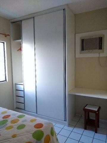 Studio 100% Mobiliado com 1 dormitório para alugar, 38 m² por R$ 1.900/mês - Graças - Reci - Foto 2
