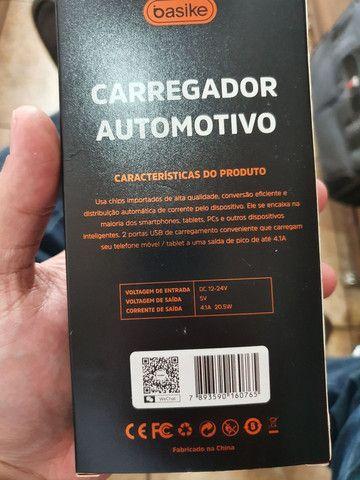 Carregador automotivo inteligente  - Foto 4