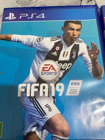 Vendo Fifa 20 e Fifa 19 PS4 - Foto 2