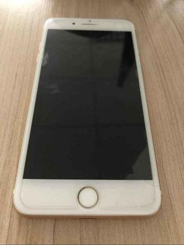 Iphone 7 Plus Dourado 128gb desbloqueado
