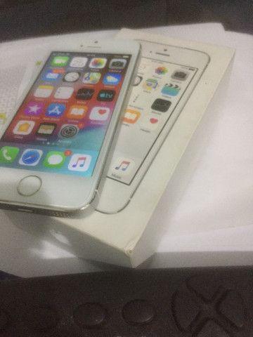 Vendo Iphone 5s 16GB - Tela e bateria nova - Pra vender rapido!