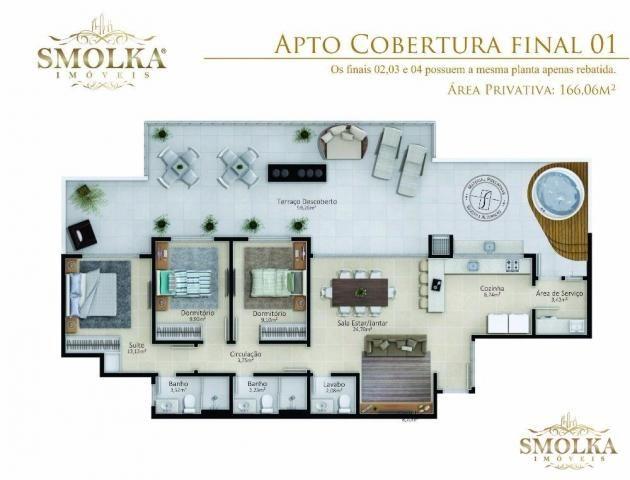 Apartamento à venda com 2 dormitórios em Jurerê, Florianópolis cod:6707 - Foto 17